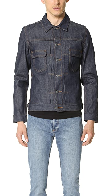 A.P.C. Raw Denim Work Jacket