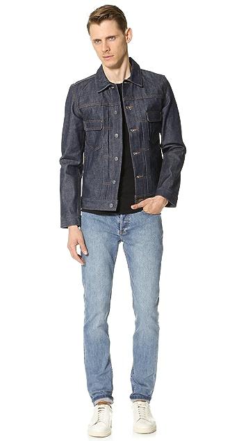 A.P.C. Raw Denim Work Jacket