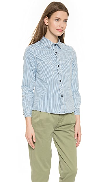 A.P.C. Nancy Button Down