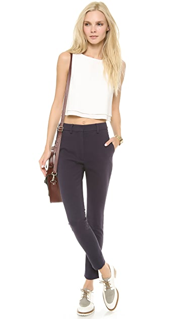Apiece Apart Camilla High-Waisted Trousers