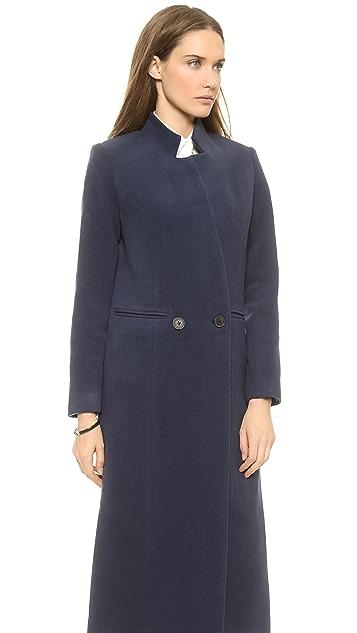 Apiece Apart Esta Long Double Breasted Coat