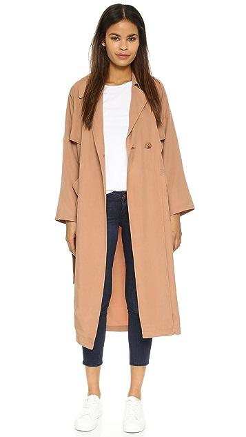 Apiece Apart Peralta Trench Coat