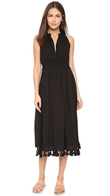 Apiece Apart Lippard Dress with Tassels
