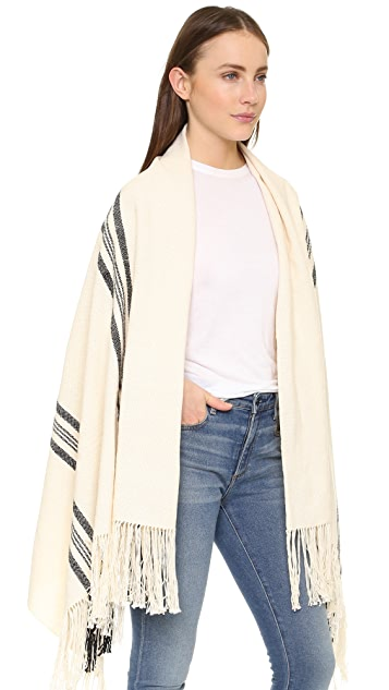 Apiece Apart Stripe Shawl