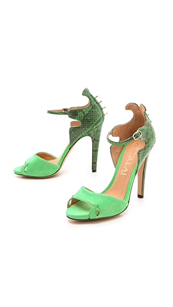 Aperlai Spike Back Sandals