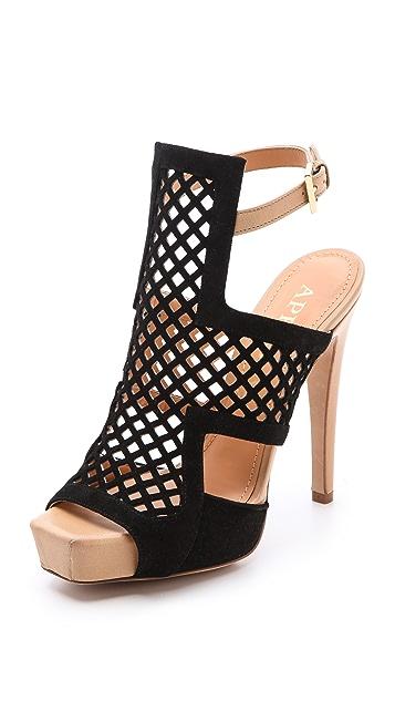 Aperlai Cage Front Sandals