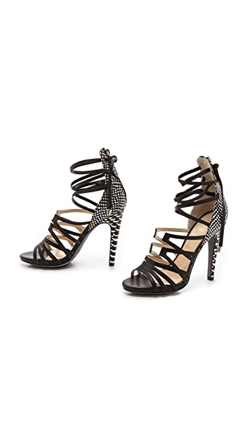 Aperlai Tie Up Heels