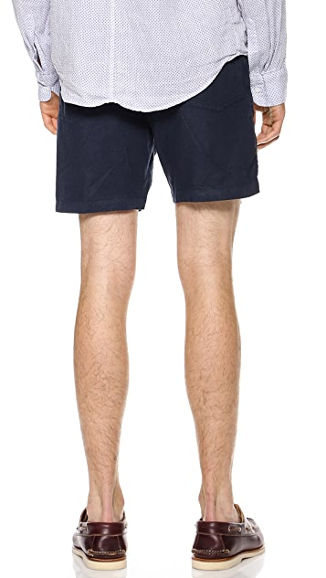 Apolis Linen Scout Shorts
