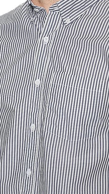 Apolis Striped Broadcloth Shirt