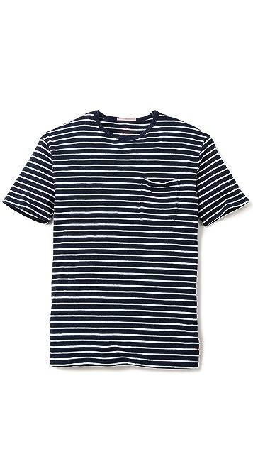 Apolis Striped Pocket T-Shirt
