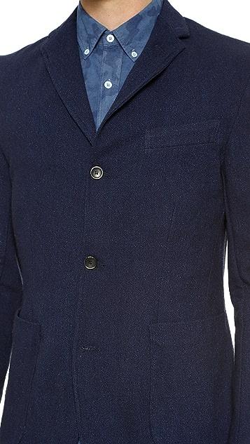 Apolis Indigo Wool Blazer