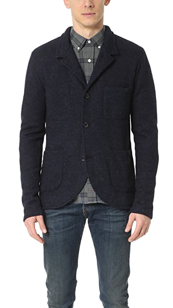 Apolis Boiled Wool Blazer