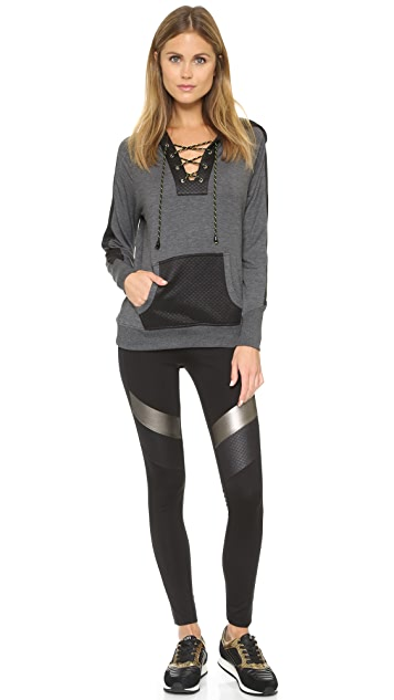 Apres Ramy Brook Dylan Hooded Pullover