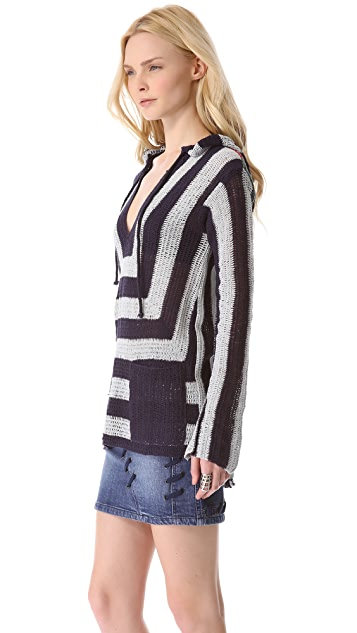 April, May Carter Crochet Hoodie