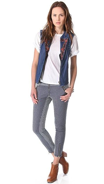 April, May Texan Jeans