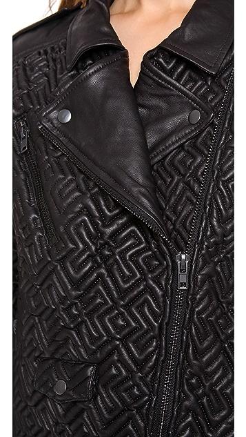 April, May Bay Biker Jacket