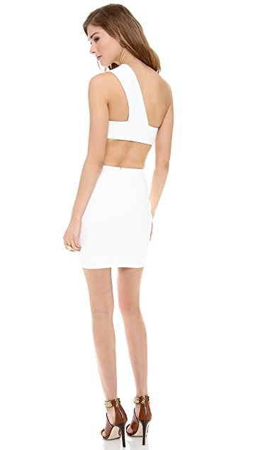 AQ/AQ Felix One Shoulder Mini Dress