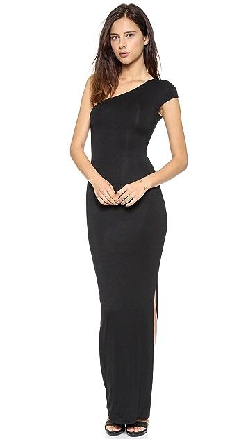 AQ/AQ Livia One Shoulder Maxi Dress