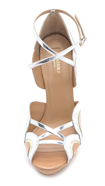 Aquazzura Tequila Sunrise Sandals