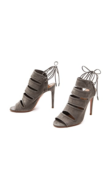 Aquazzura Sloane Cutout Sandals