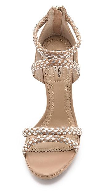Aquazzura Cheeta Bombe Sandals