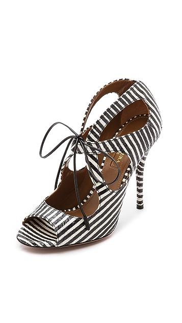 Aquazzura C'est Chic Sandals