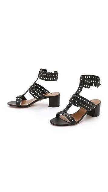 Aquazzura Rebel Studded Sandals