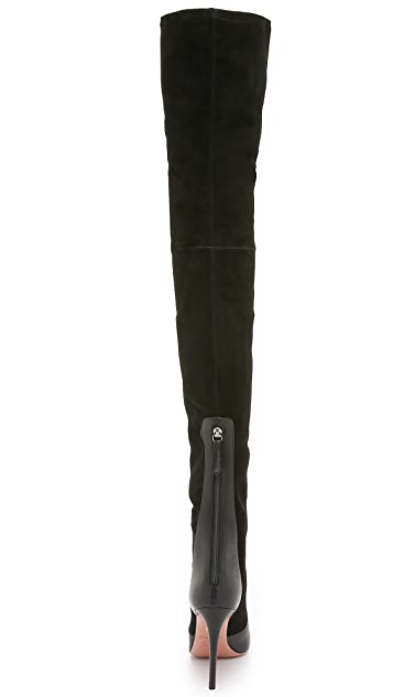 Aquazzura All I Need Over the Knee Boots