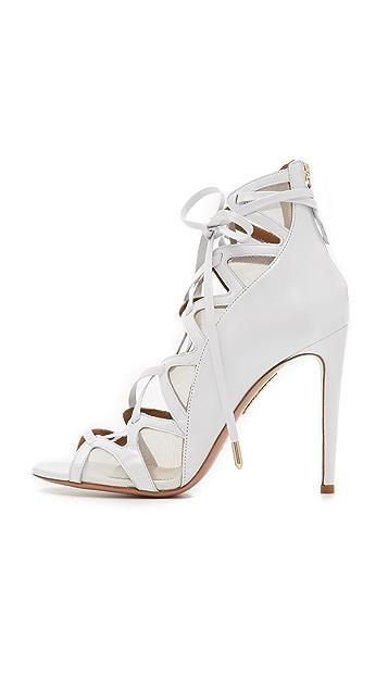 Aquazzura French Lover Bridal Sandals