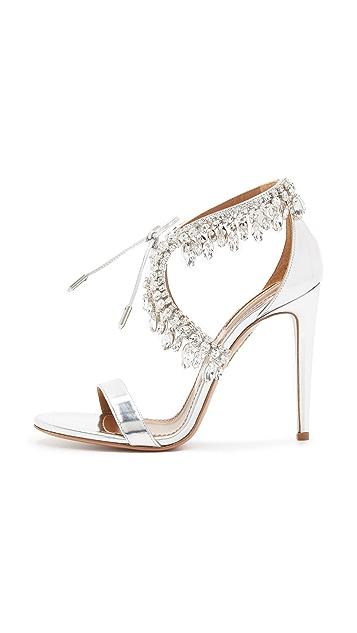 Aquazzura Milla Jewel Sandals