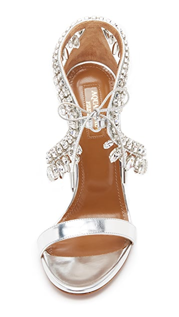 Aquazzura Milla Jewel Sandals