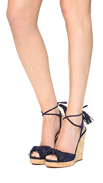 Aquazzura Wild One Wedge Espadrilles