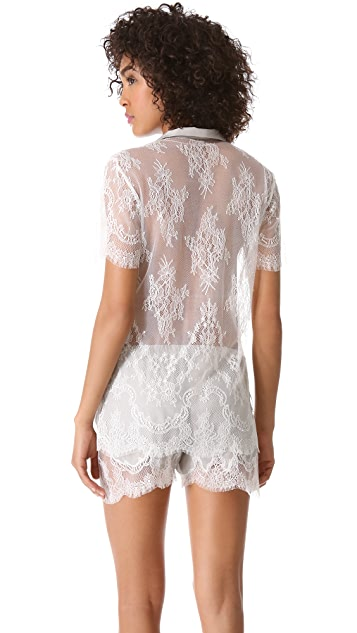 Ari Dein Lace Boutique Hotel Pajama Top