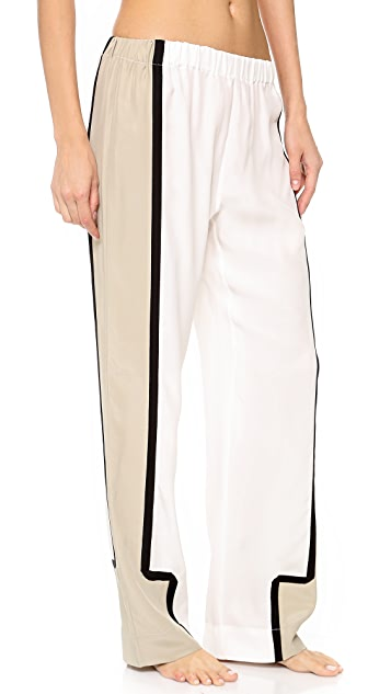 Ari Dein Colorblock Boutique Hotel Pajama Pants