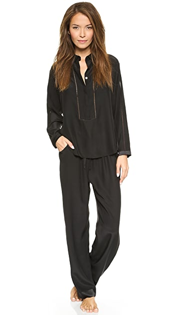 Ari Dein Grand Hotel Pajama Top