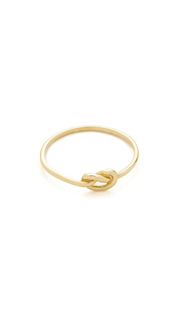 Ariel Gordon Jewelry 14k Gold Love Knot Ring