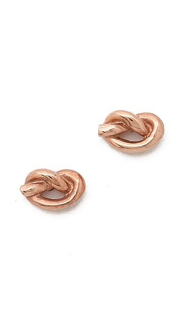 Ariel Gordon Jewelry Love Knot Earrings