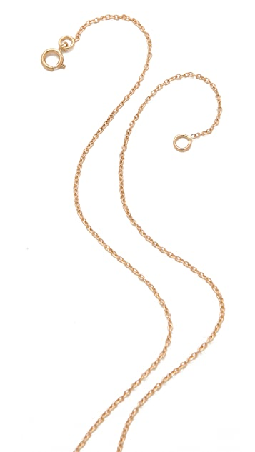 Ariel Gordon Jewelry 14k Gold Diamond Lariat Necklace