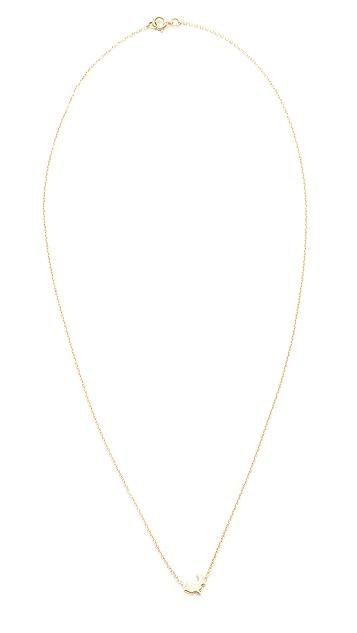 Ariel Gordon Jewelry 14k Gold Menagerie Bunny Necklace