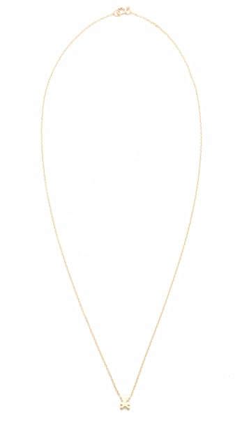 Ariel Gordon Jewelry 14k Gold The Menagerie Teddy Bear Necklace