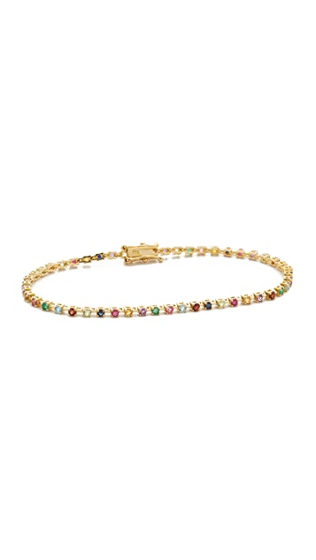 Ariel Gordon Jewelry Теннисный браслет Candy Crush
