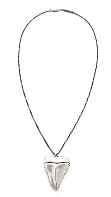 Arizaga Shark Tooth Necklace