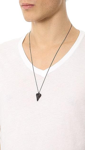 Arizaga Mini Shark Tooth Necklace