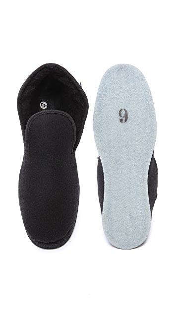 Armor-Lux Classic Wool Slippers