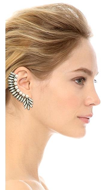 Amber Sceats Imitation Pearl Ear Crawler