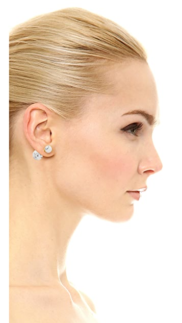 Amber Sceats Front to Back Marble Earrings