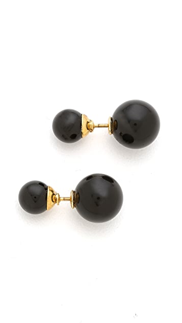 Amber Sceats Front to Back Earrings