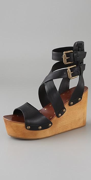 Ash Vicky Crisscross Clog Sandals