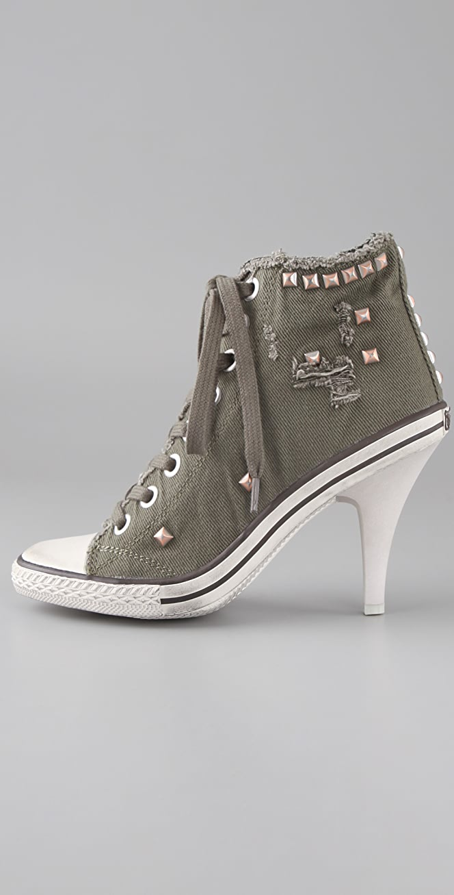 Ash Stone High Heel Sneakers   SHOPBOP