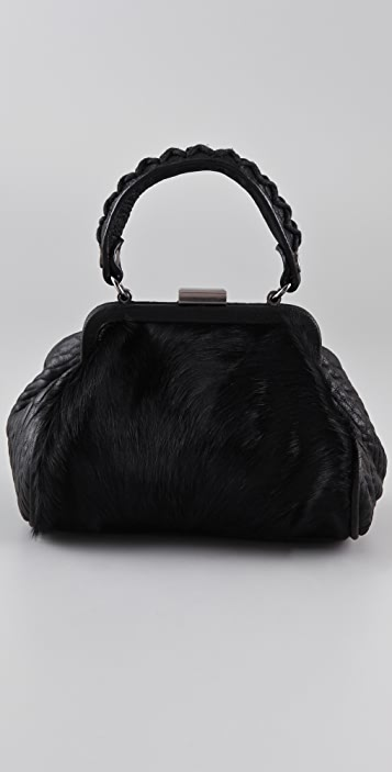 Ash Betty Mini Haircalf Satchel